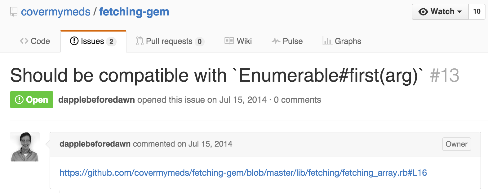 Find Issue
